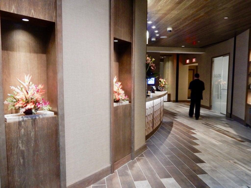 Entrance Crystal Life Spa Resorts World Catskills NY