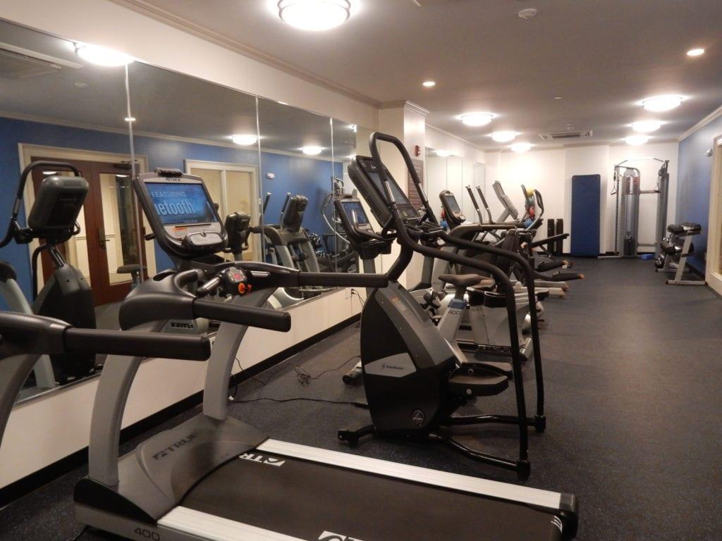Fitness Room Groton Inn MA