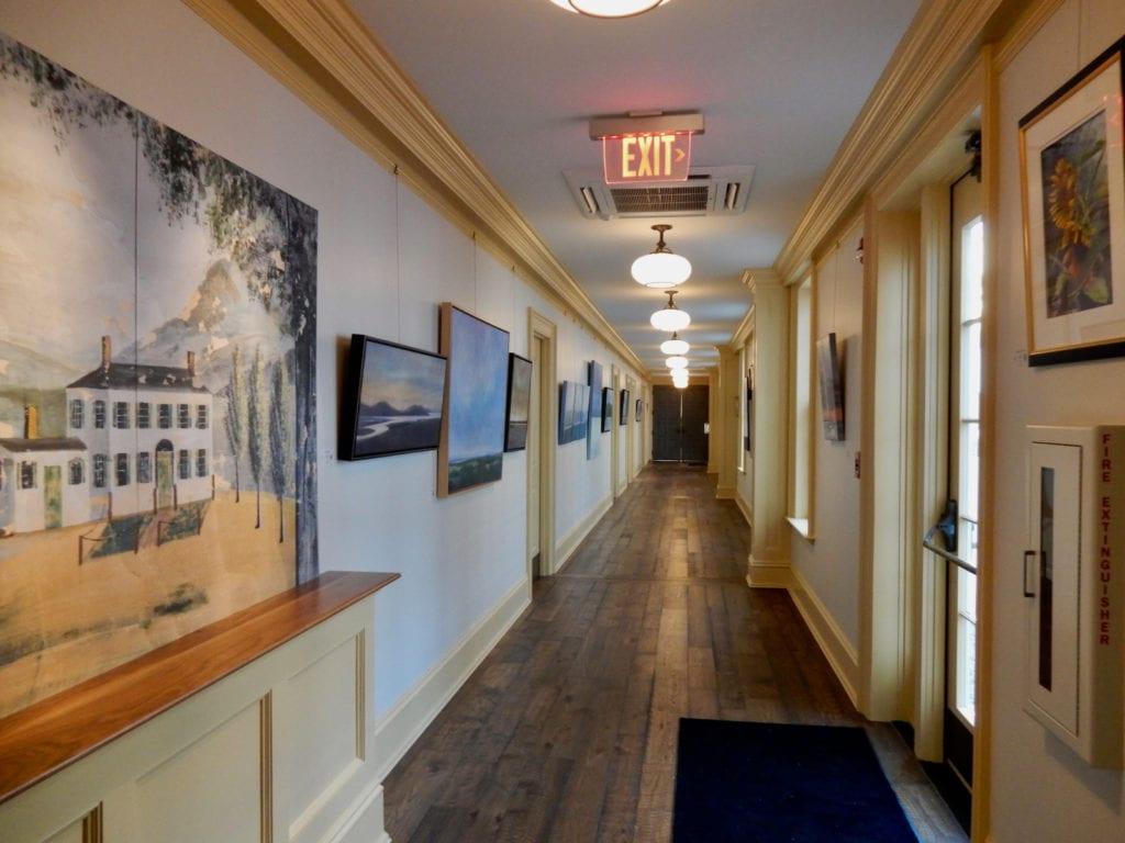 Hallway Groton Inn MA