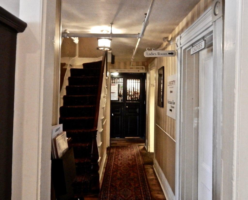 Hallway Tap Room Colonial Inn Concord MA