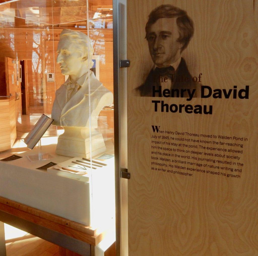 Henry David Thoreau Concord MA