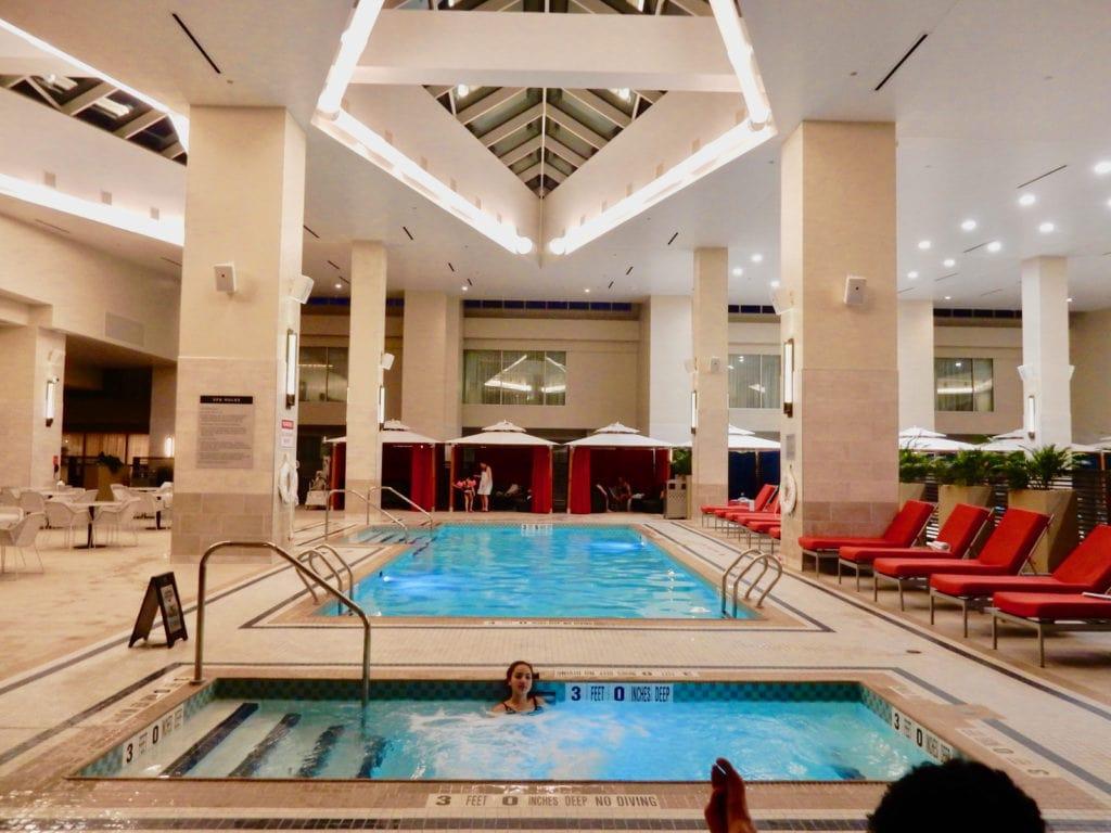 Indoor Pool Resorts World Catskills Monticello NY