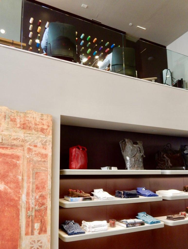 Isaia with upstairs tailors, Madison Ave NY NY