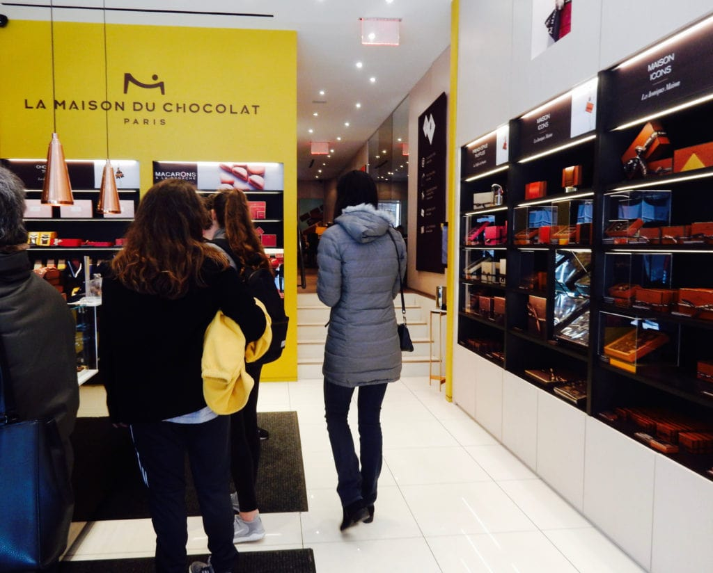 La Maison du Chocolate Madison Ave NY NY