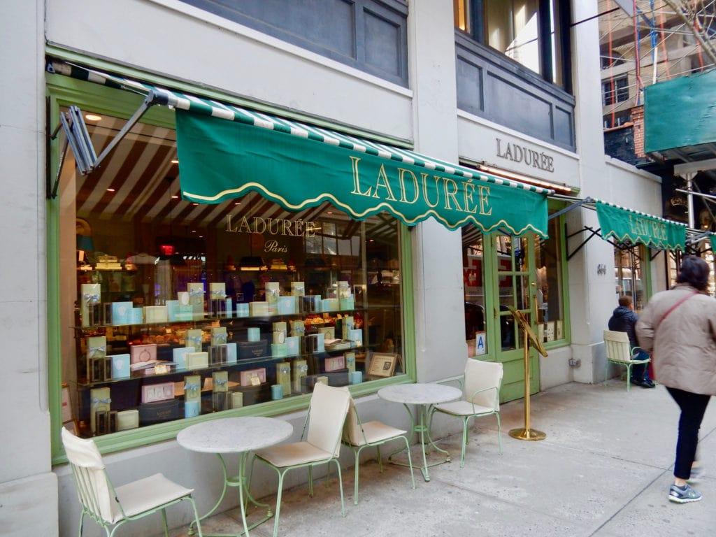 Laduree Exterior Madison Ave NY NY