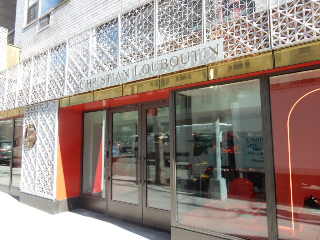Louboutin Madison Ave NY NY