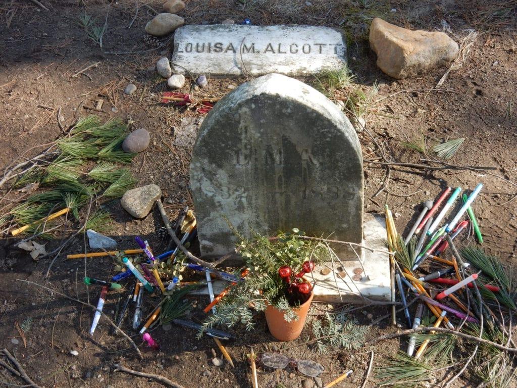 Louisa M Alcott Grave Concord MA