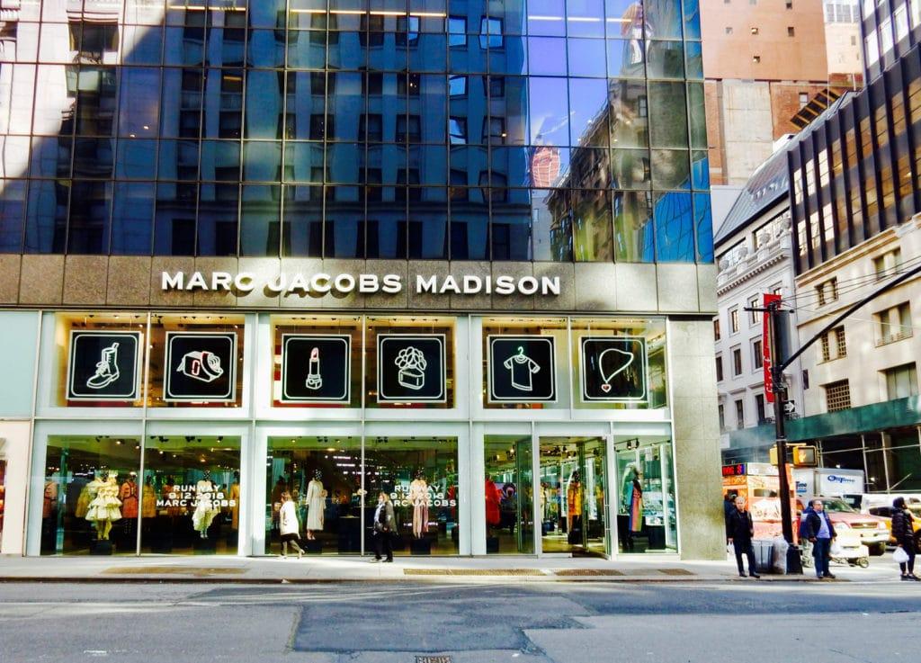 Marc Jacobs Madison Ave NY NY