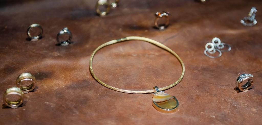 Okidanokh Gold Necklace