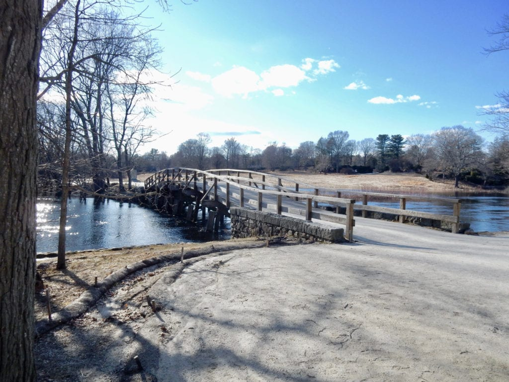 Old North Bridge Battle Concord MA