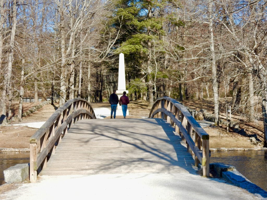 Old North Bridge Concord MA