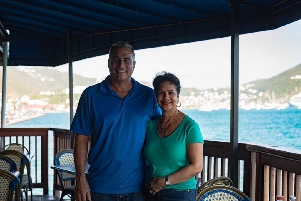 Petit Pump Room Restaurant owners
