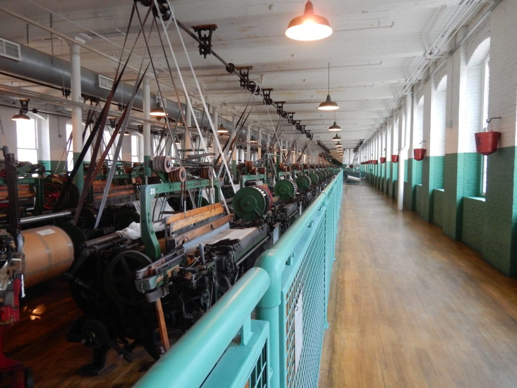 Power Looms Boott Mills Museum Lowell NHP MA