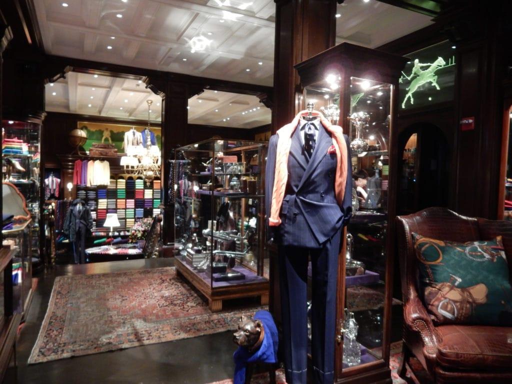 Ralph Lauren Men's Madison Ave NY NY