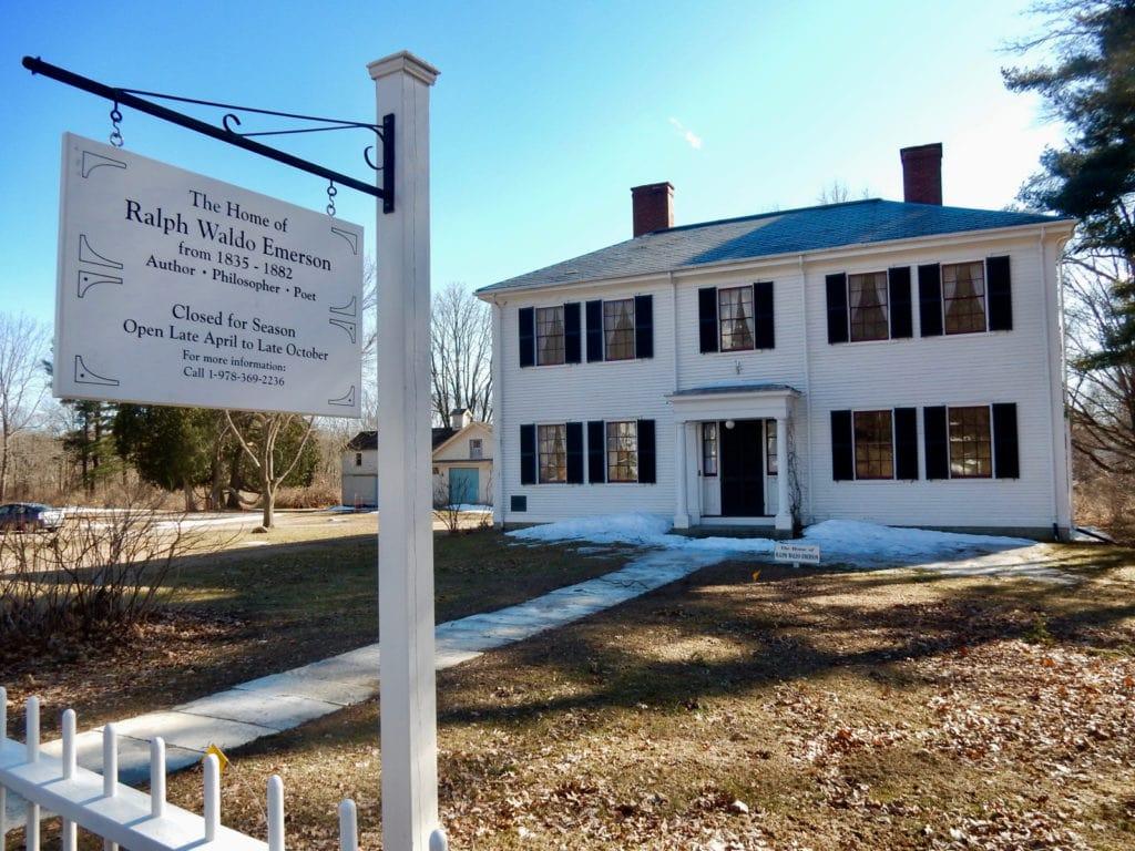 Ralph Waldo Emerson Home Concord MA