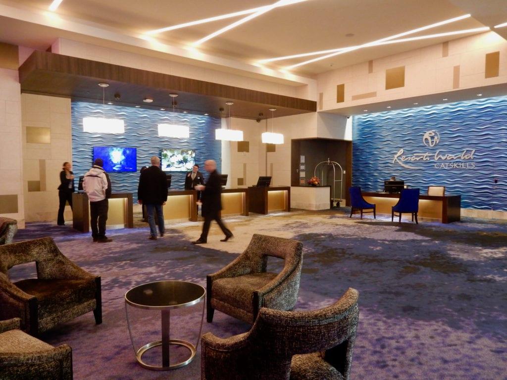 Resorts World Catskills Hotel Lobby
