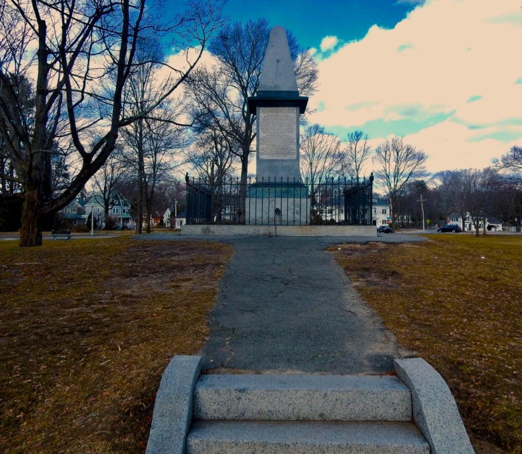Revolutionary War Monument Lexington Green MA