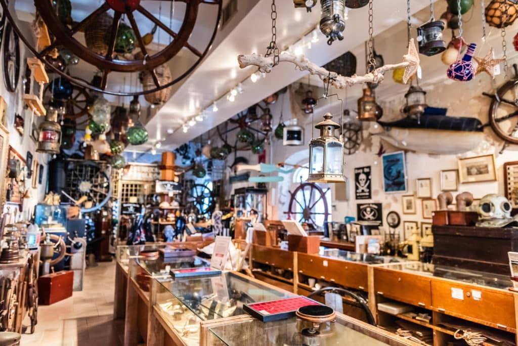 SOS Antiques shop Interior