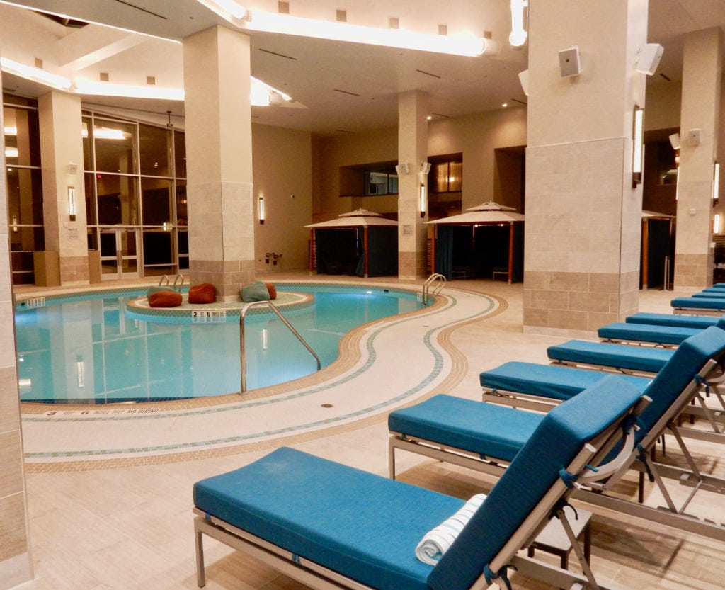 Spa Pool Resorts World in Catskills NY makes our list of top luxury hotels in Northeast USA.