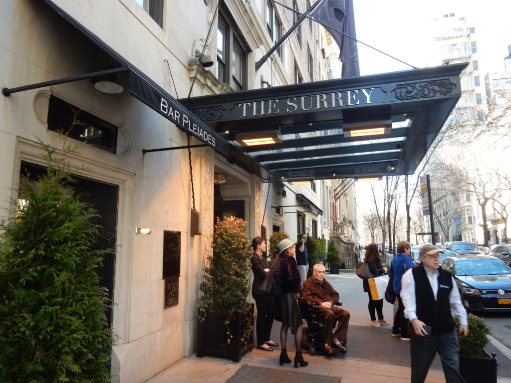 The Surrey Hotel NY NY