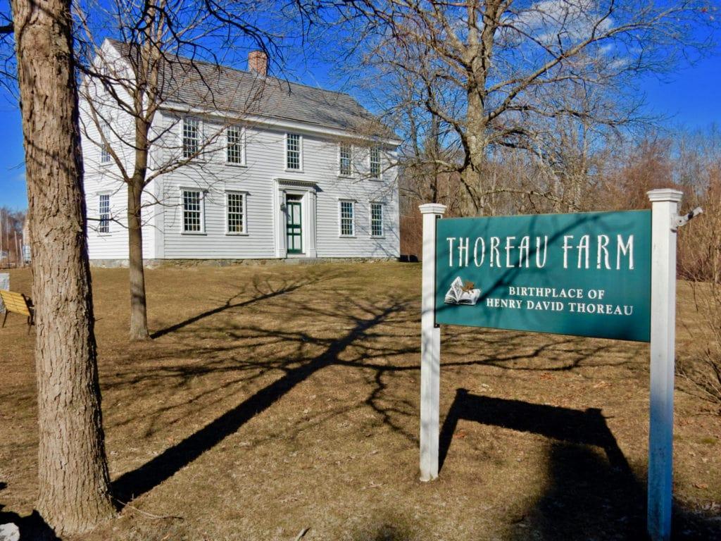 Thoreau Farm Concord MA