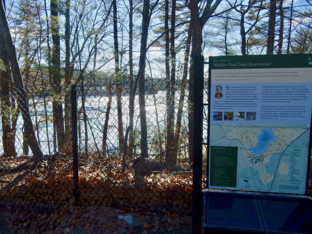 Walden Pond State Reservation Concord MA