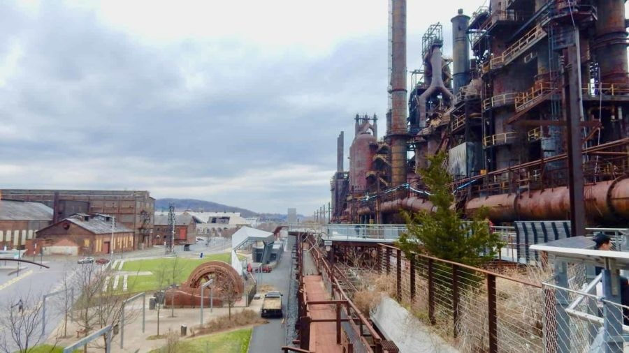 Bethlehem PA: Steel, Song, Study, and Skill in PA's Moravian Town