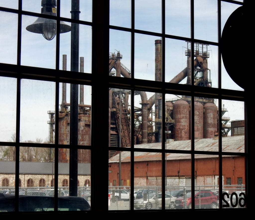 Bethlehem Steel Furnaces from National Museum of Industrial History Bethlehem PA