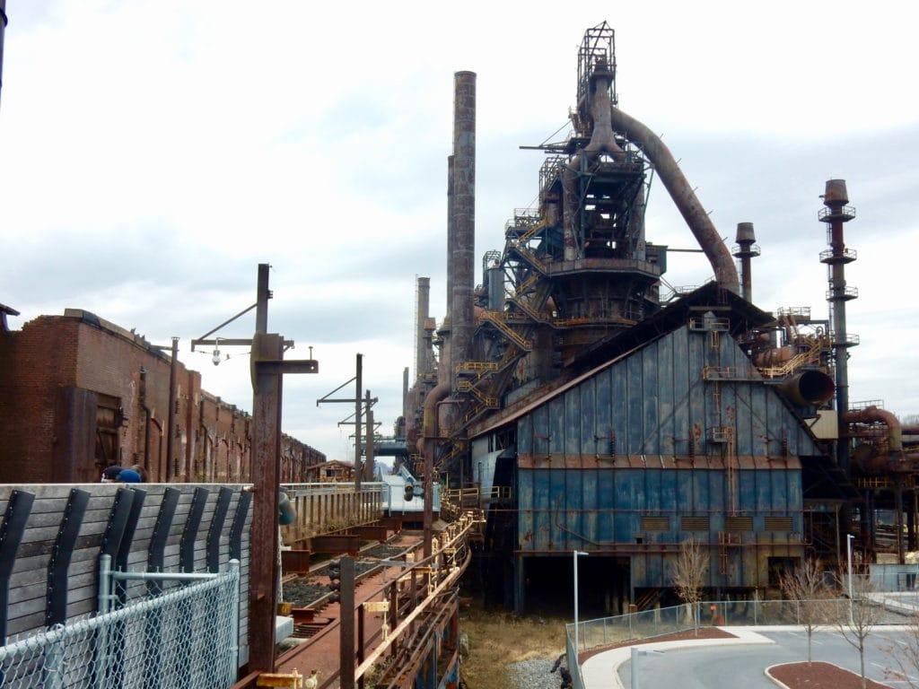 Bethlehem Steel Ruins PA