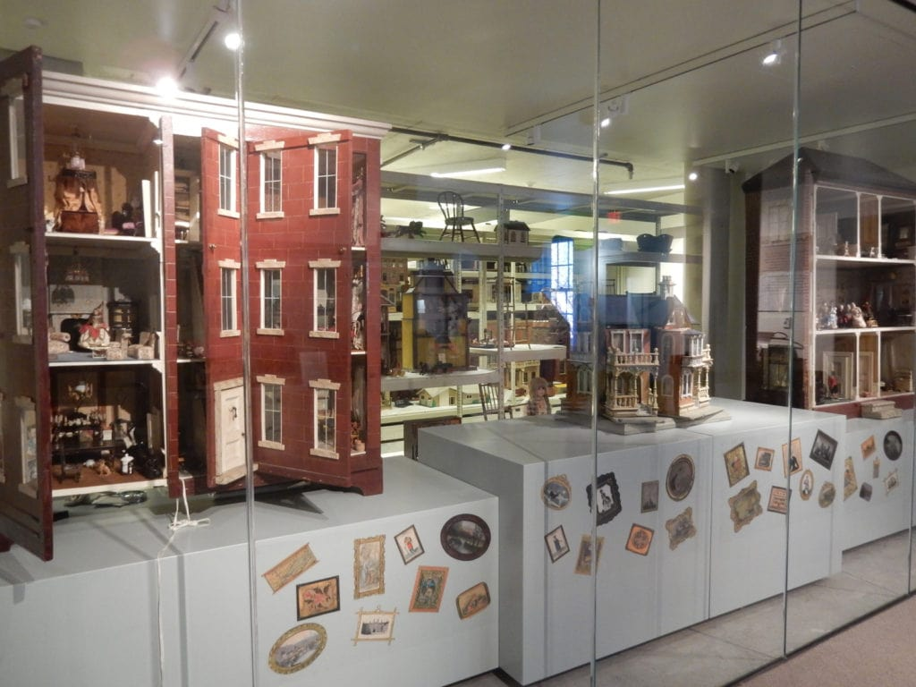 Betts Johnston Prime Dollhouse Collection Kemerer Museum of Decorative Arts Bethlehem PA
