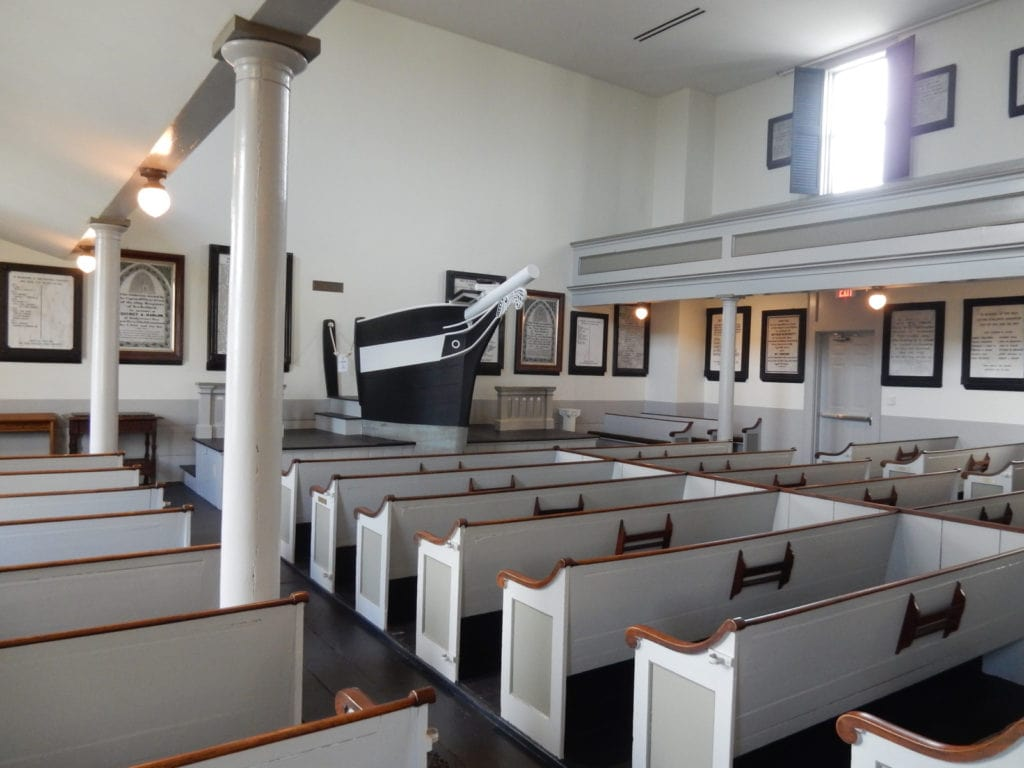 Bow Sprit Pulpit Seamen's Bethel New Bedford MA