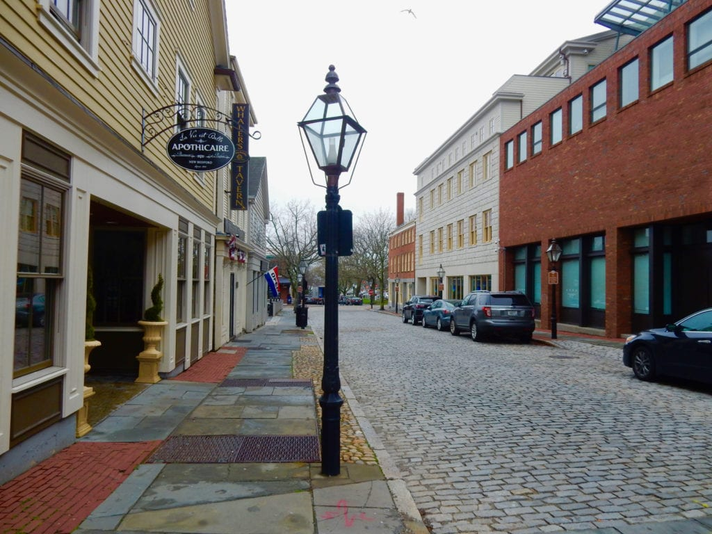 Cobblestone Street New Bedford MA