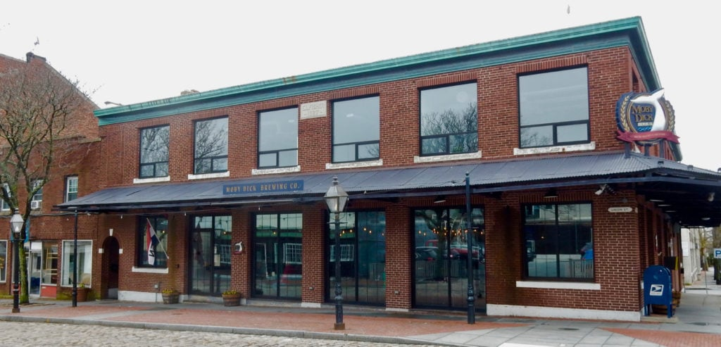 Exterior Moby Dick Brewing Co. New Bedford MA