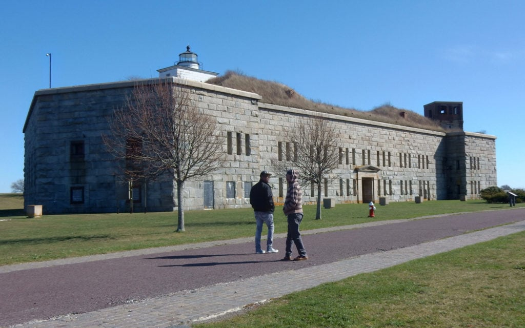 Fort Taber New Bedford MA
