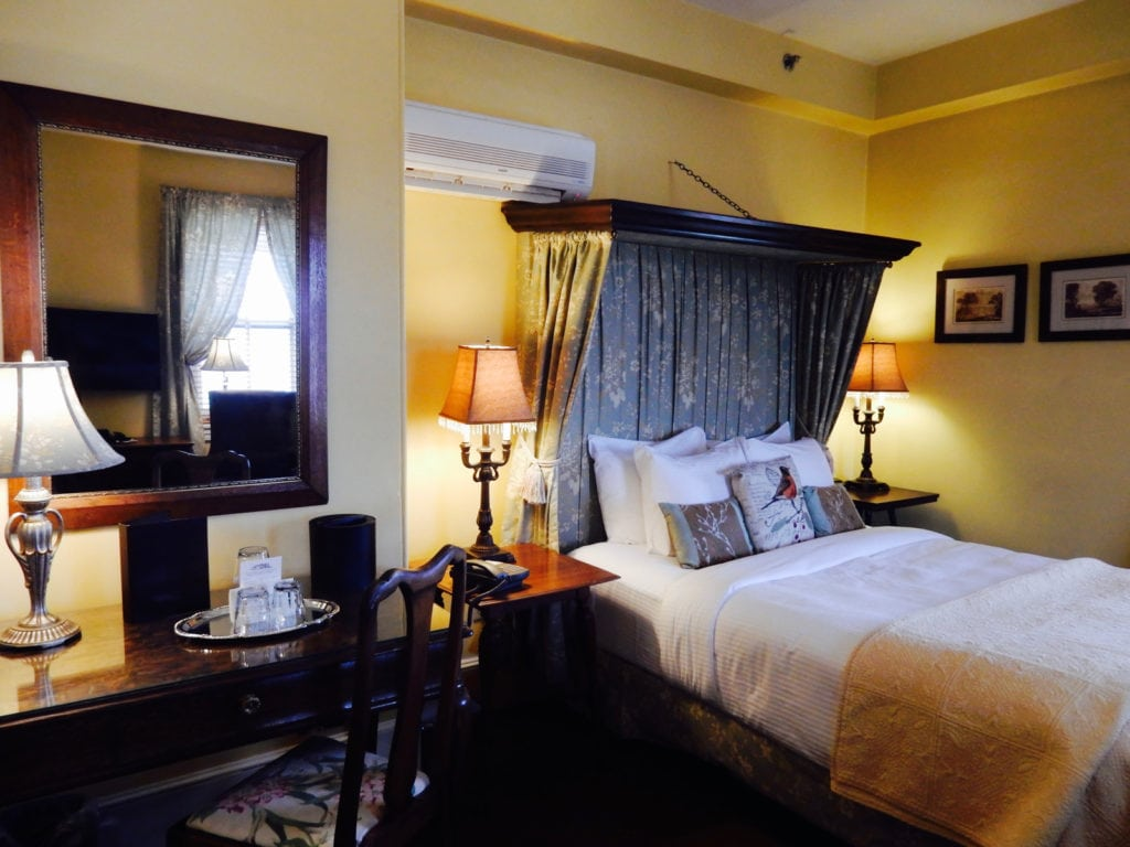 Guest Room Sayre Mansion Bethlehem PA