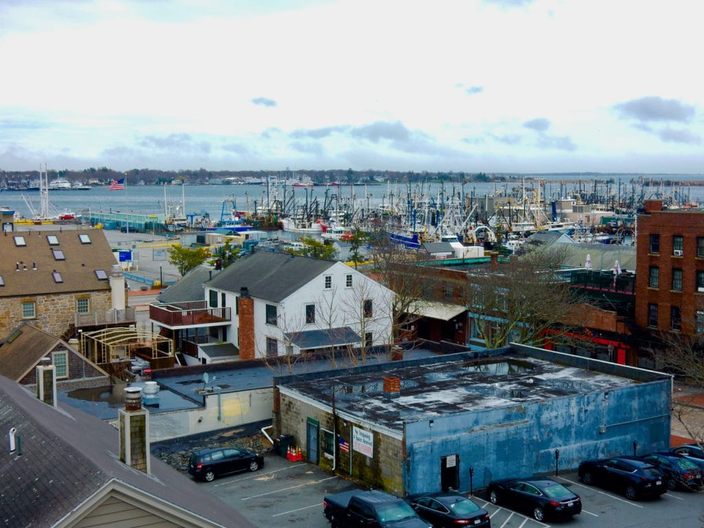 Harbor View from New Bedford Whaling Museum MA