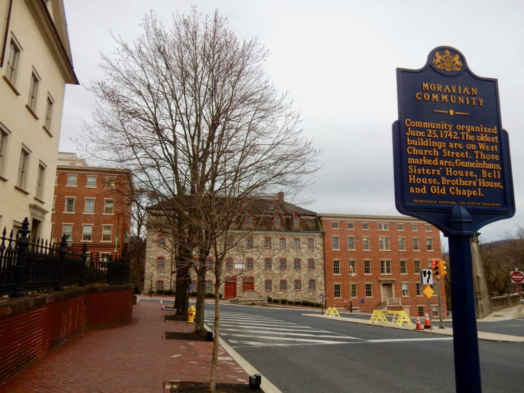 Historic Moravian Bethlehem PA