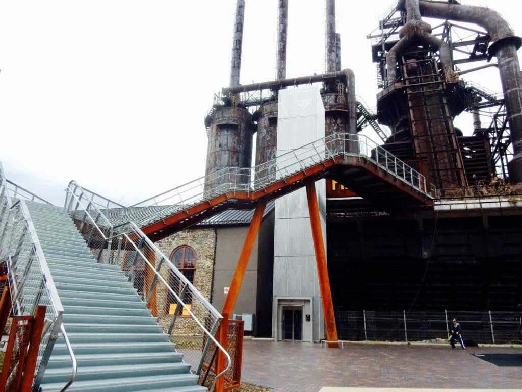 Hoover-Mason Trestle Stairs Bethlehem PA