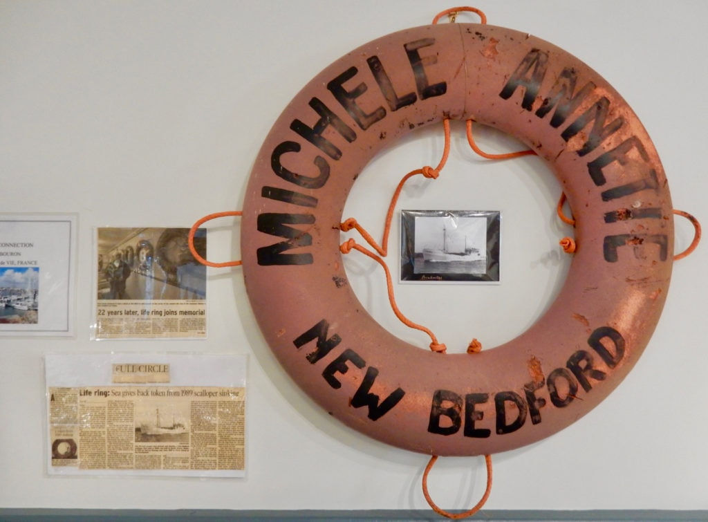MA Life Ring Found in France Seamens Bethel New Bedford MA