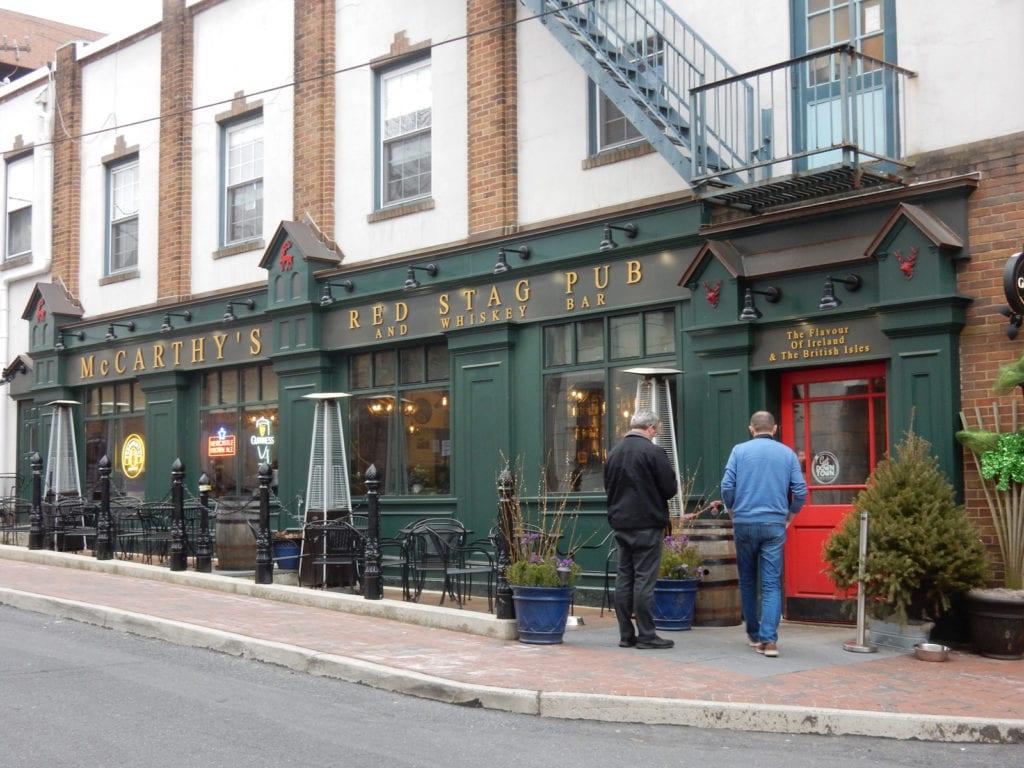 McCarthy's Red Stag Pub Bethlehem PA