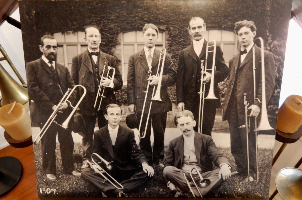 Moravian Trombone Orchestra 1907 Bethlehem PA