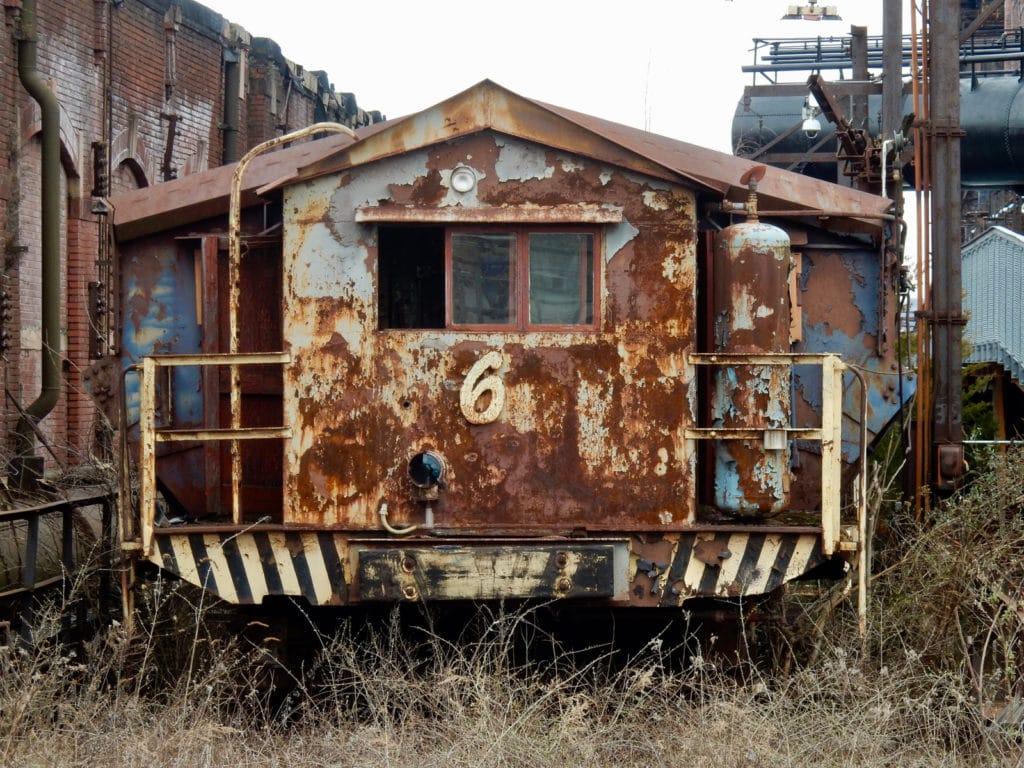 Ore Car Bethlehem Steel Hoover Mason Trestle PA