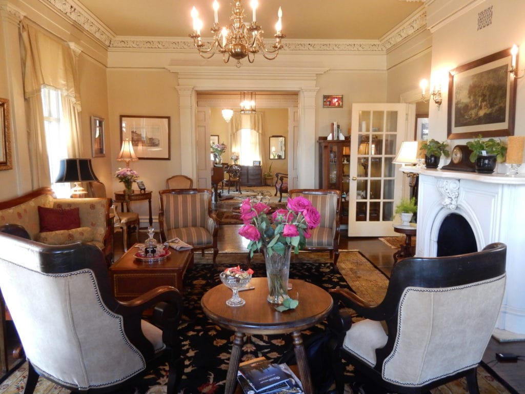 Sayre Mansion Parlor Reception Bethlehem PA
