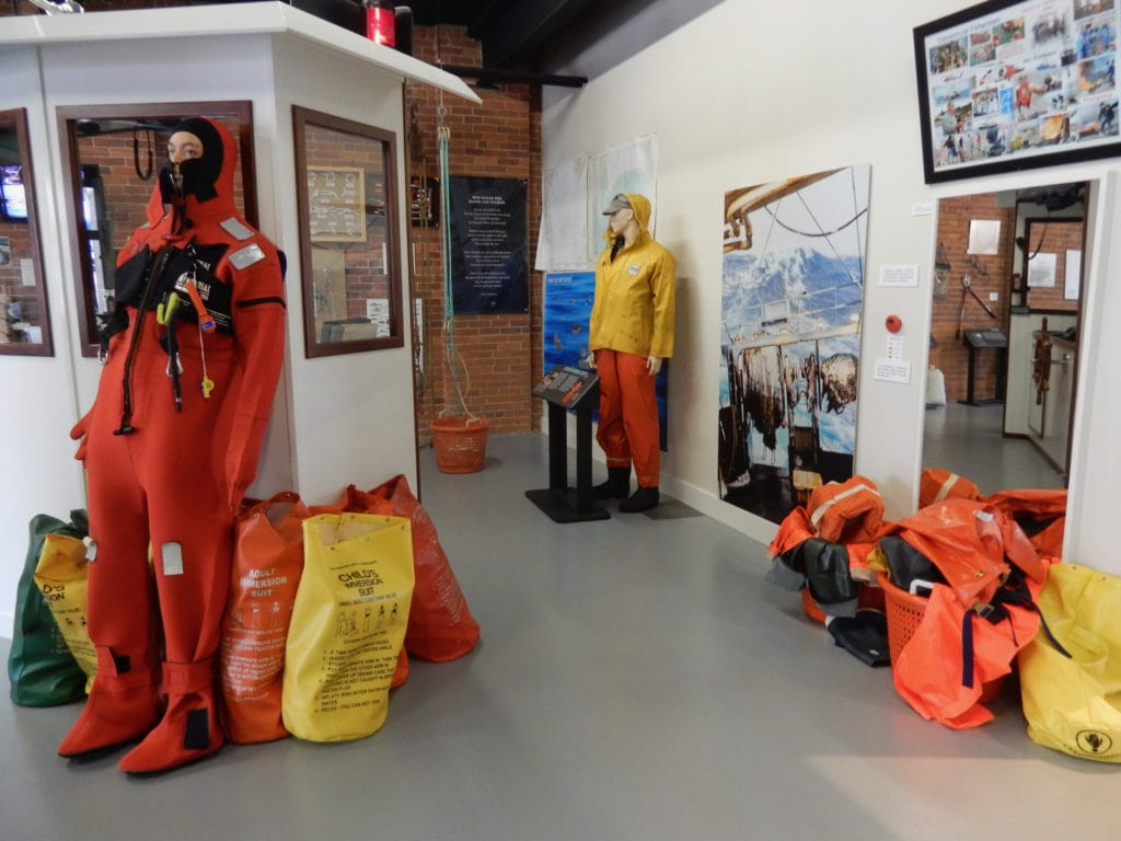 Survival Gear Fishing Heritage Center New Bedford MA