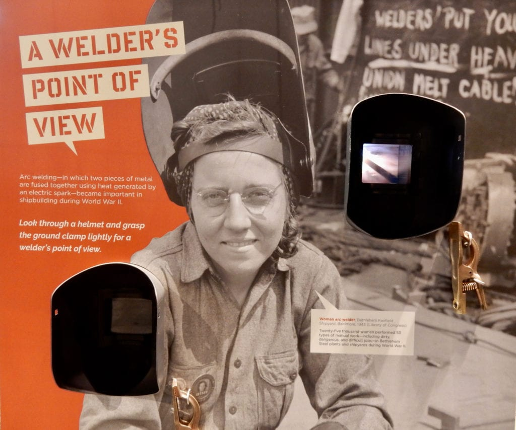 Welders POV National Museum of Industrial History Bethlehem PA