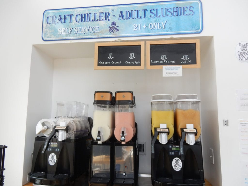 Adult Slushies Dark Island Spirits Alexandria Bay NY