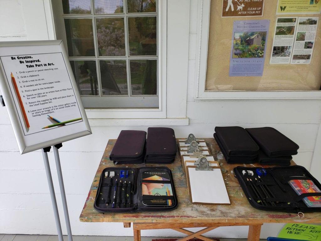 Art Kits Weir Farm Ridgefield CT
