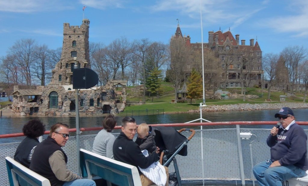 Boldt Castle from Uncle Sams Boat Tours NY