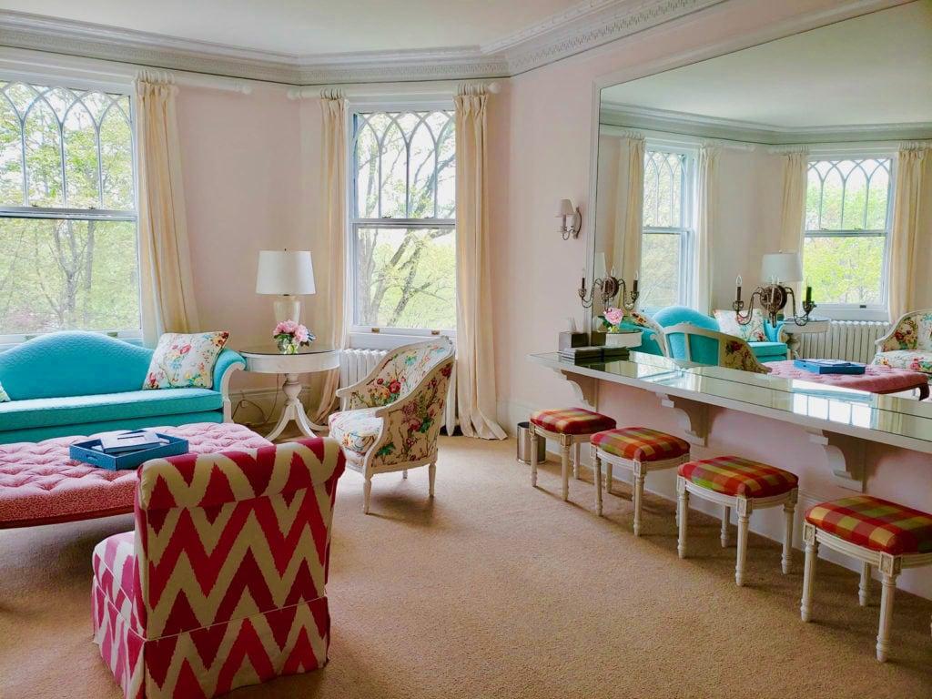 Bridal Prep Room, Lounsbury, Ridgefield CT