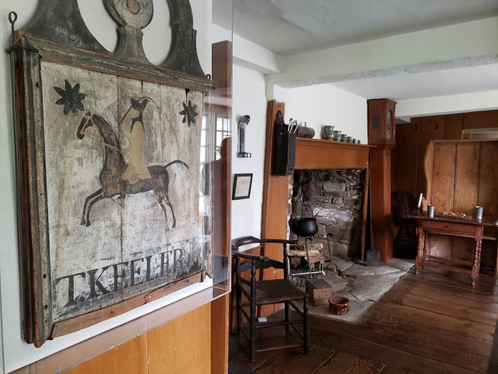 Keeler Tavern Interior Ridgefield CT